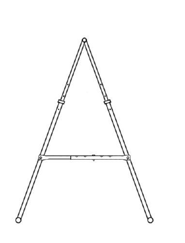 folding pull up bar (horizontal bar)