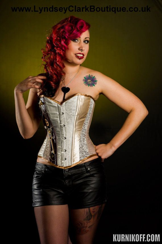 Steampunk corset. Victorian classic style by LyndseyBoutique