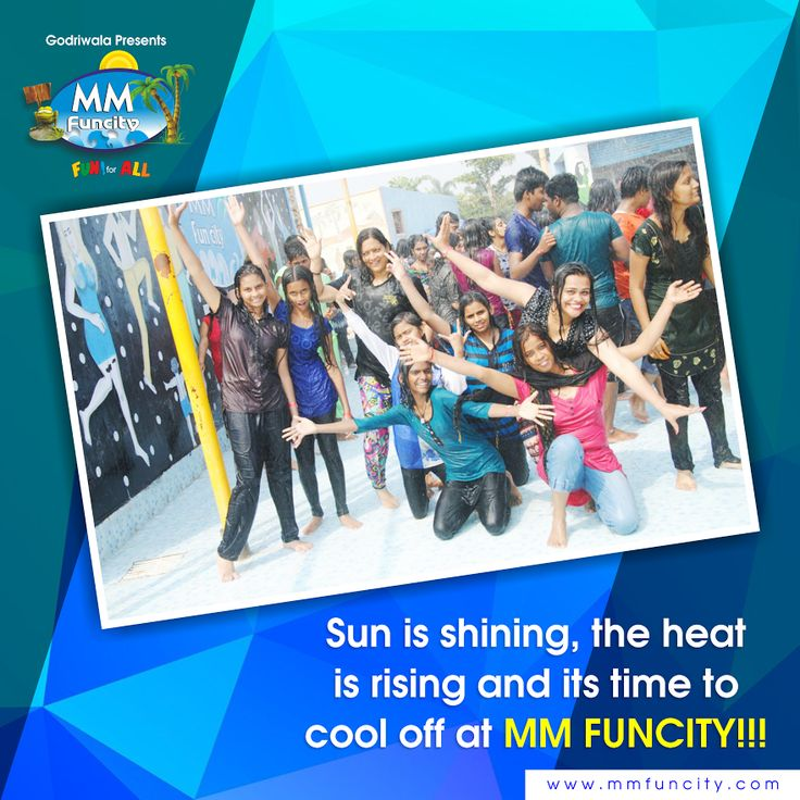 Sun is shining, the heat is rising and its time to cool off at MM FUNCITY!!!  For More: https://goo.gl/Su9dWZ