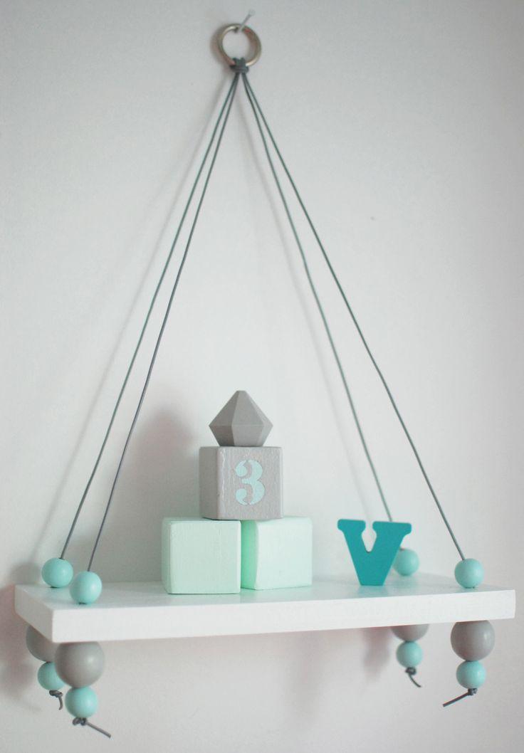 Shelf painted