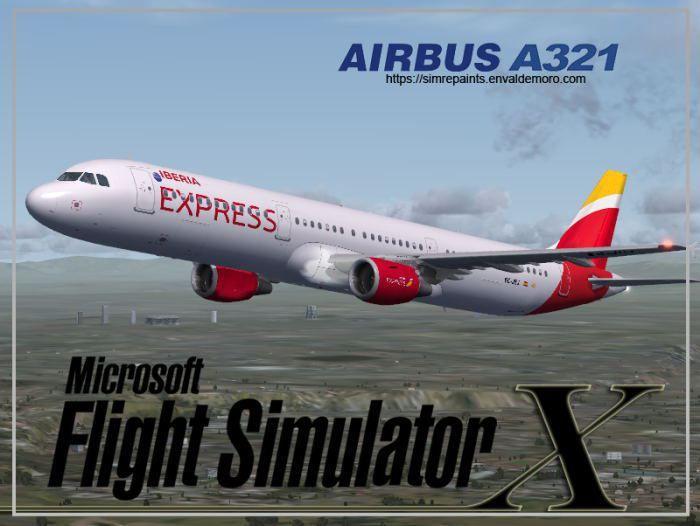 Splash screen Iberia Express A321-211. Este es el primer avión tipo Airbus A321-211 que opera Iberia Express. Os dejo el #Splashscreen Iberia Express A321-211, disfrutadlo. https://simrepaints.envaldemoro.com