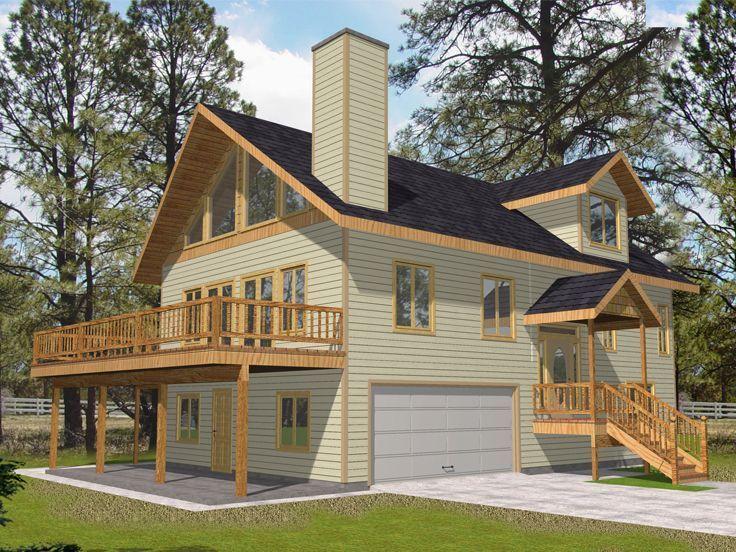 Garage Apartment Plan, 012G-0094