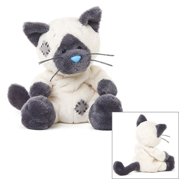 My Blue Nose Friends Soft Toy Animal MBNF Claudia the Siamese Cat No.154