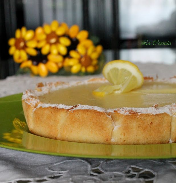 Torta con crema di limone di Ernst Knam - La cassata celiaca
