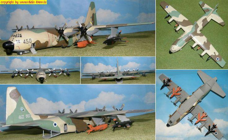 "Lockheed DC-130 ""Hercules""(""Director"") mit Drohnen (Italeri 148)"