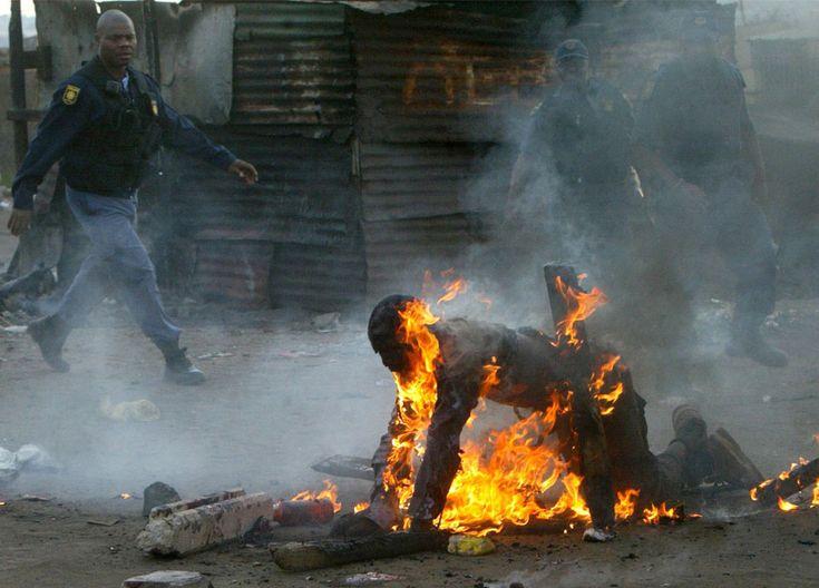 Апартеид в ЮАР (фото)