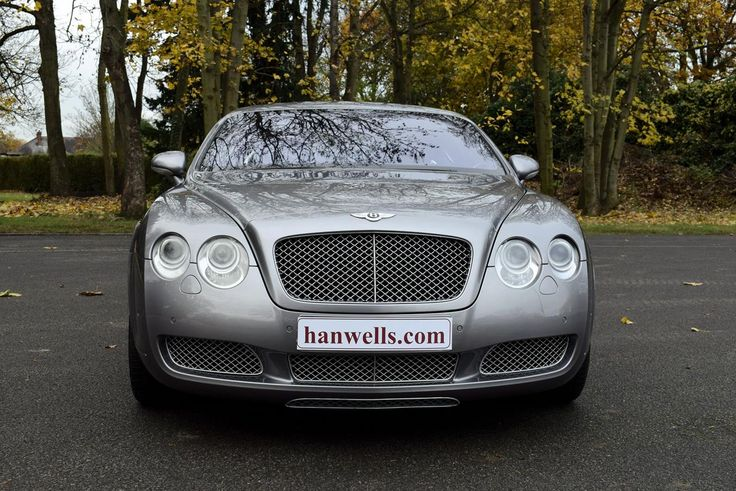 2005 Model-54 Bentley Continental GT. Finished in Silver Tempest with 19 inch split rim alloys. Soft Black interior with Walnut veneers. Only 46,000 miles. Known to ourselves for last 3 years. Full Service History. Immaculate condition throughout £32,950 Full Details:   http://hanwells.net/showrooms/bentley-showroom/bentley-continental/2005-model-54-bentley-continental-gt-in-silver-tempest-32-950
