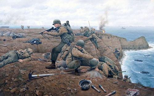 d-day german defenses