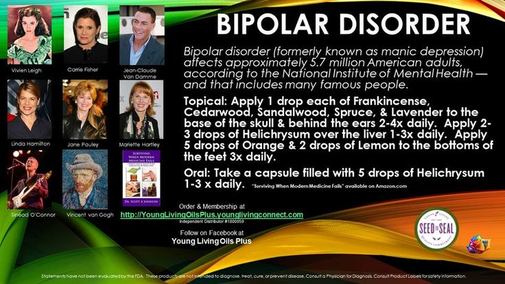 Young Living Essential Oils: Bipolar Manic Depression http://www.ylwebsite.com/SandyHowell/home