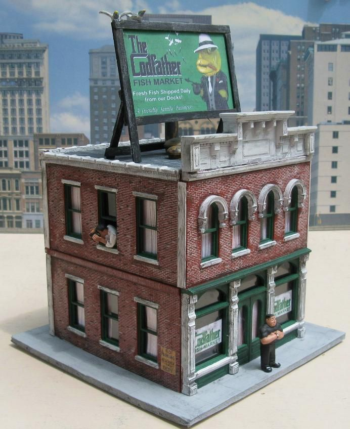 Accessories O Gauge Buildings : Images about o scale model train buildings on