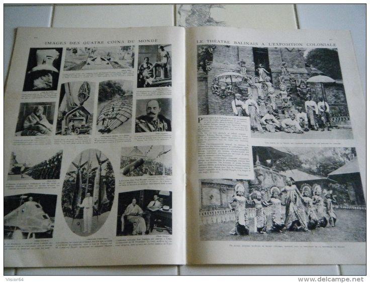 LE MIROIR DU MONDE N 80-12 SEPTEMBRE 1931- MARNE-MEAUX - NAVIGATION  - MER MORTE - MELIES - NUREMBERG - EGYPTE COTON-INS - Newspapers