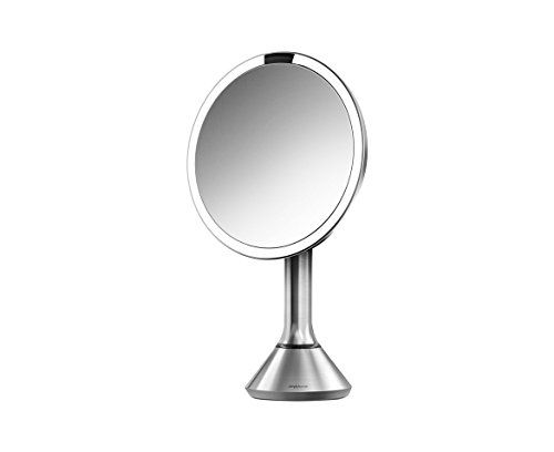 Pic Of simplehuman Sensor Mirror Sensor Activated Lighted Vanity Mirror Magnification inches Phyrra us favorite mirror to apply makeup