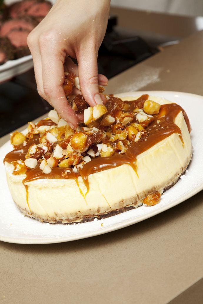 Salted caramel and macadamia cheesecake | House and Leisure