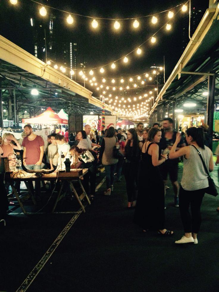 Victoria Wednesday night market, Melbourne