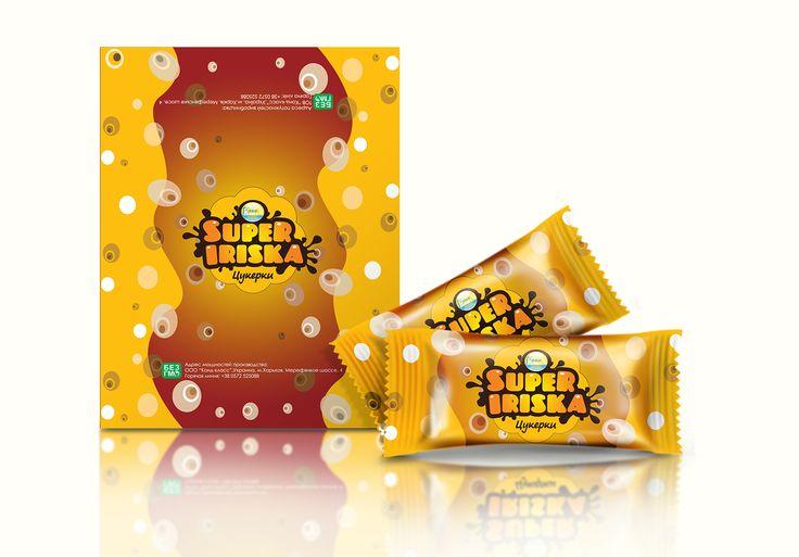 Дизайн упаковки для конфет