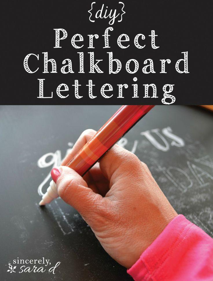 PerfectChalkboardLettering