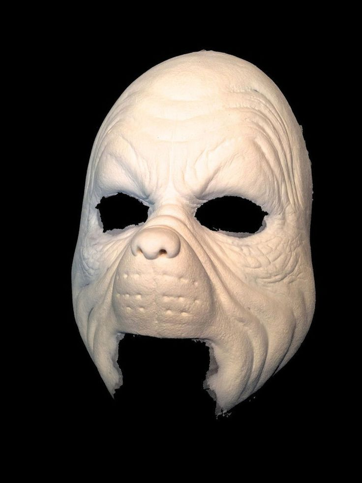 Halloween Foam latex Grinch Face Brows Mask lot.