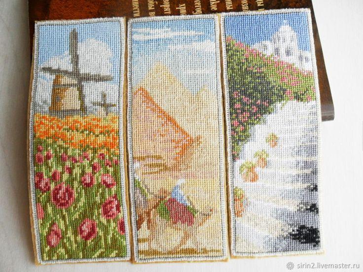 Путешествия, закладка для книг из фетра, ручная вышивка крестом, – купить в интернет-магазине на Ярмарке Мастеров с доставкой - F8Y2NRU
