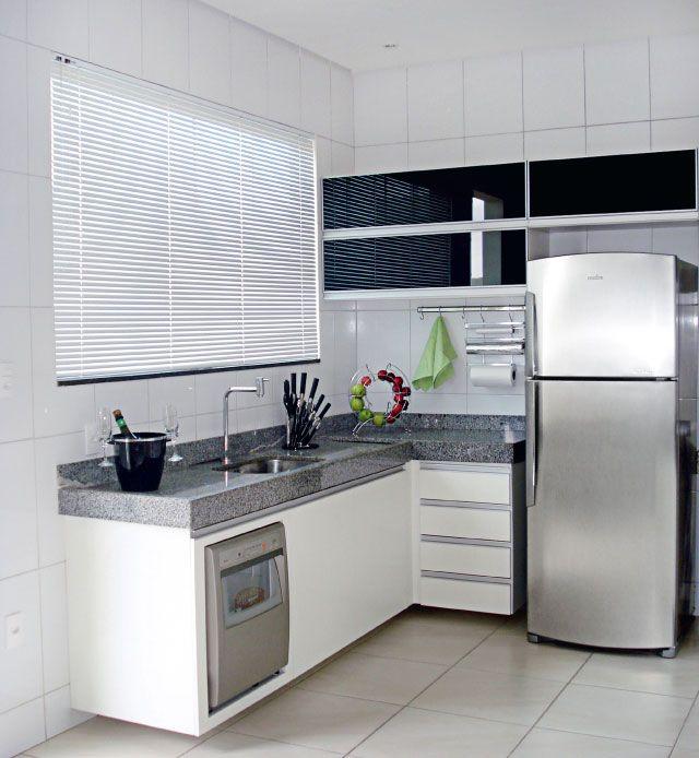 +1000 ideias sobre Bancadas De Cozinha Em Granito no Pinterest  Casa E Renov # Cozinha Pequena Inox Ou Branco