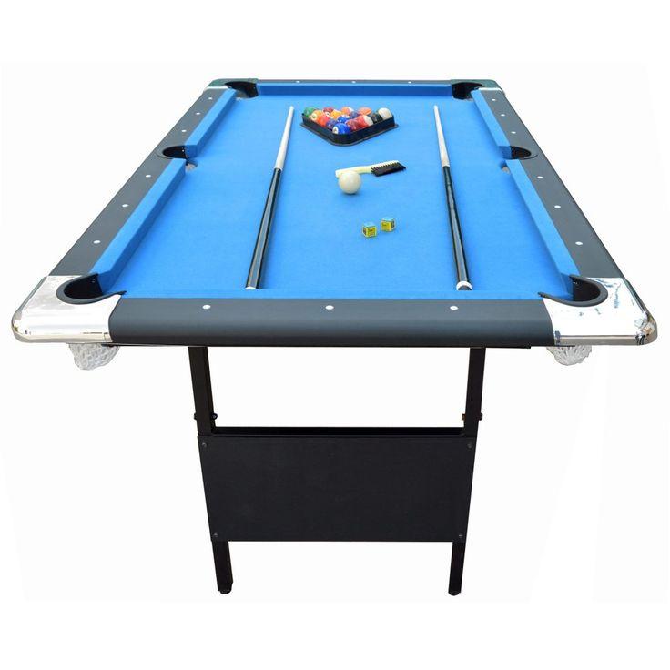Hathaway Games Fairmont 639 Portable Pool Table Amp Reviews Wayfair