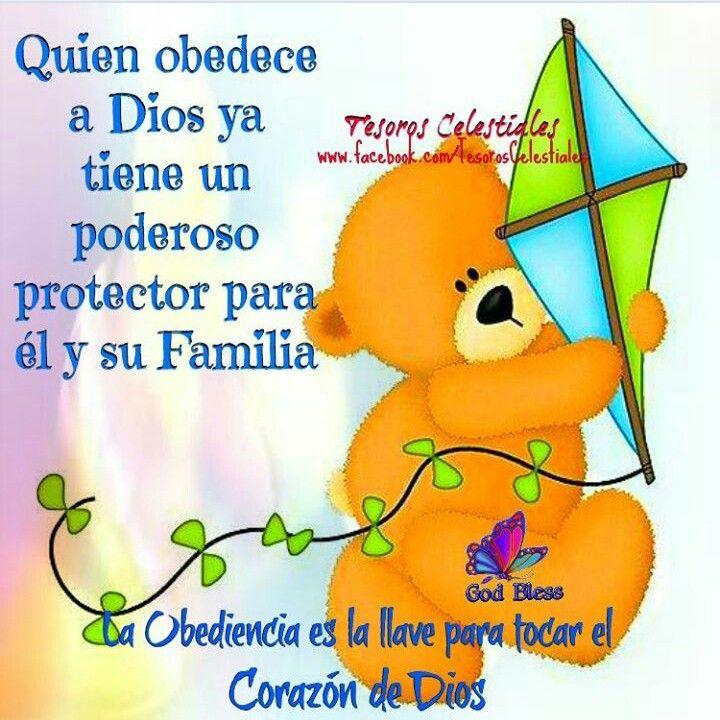 Quien obedece a Dios ya tiene un poderoso protector para él y su familia.  La obediencia es la llave para tocar el corazón de Dios.