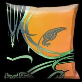 Found it at Wayfair - Butterflies and Beauty Synthetic Throw Pillow