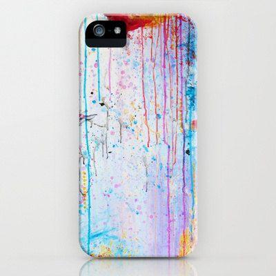 HAPPY TEARS Pastel Art iPhone 5 5c SE 6 6s 7 Plus Case Samsung