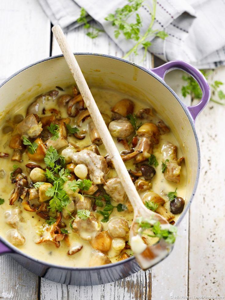 Apporter à table une grosse marmite, servir une viande tendre avec des pommes de terre etune sauce à la crème : un vrai bonheur hivernal.