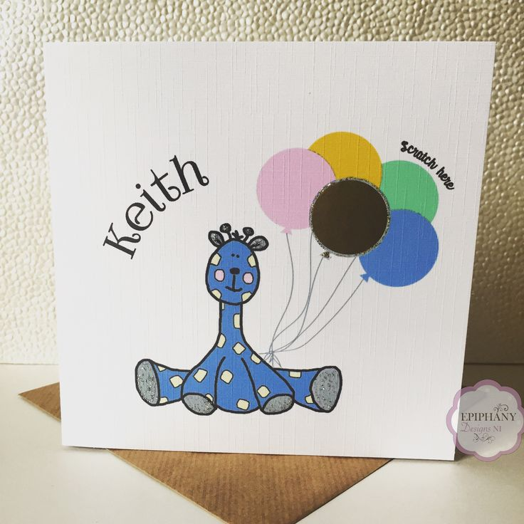 Personalised Scratch To reveal card - will you be my Godparent, Godfather, Godmother?