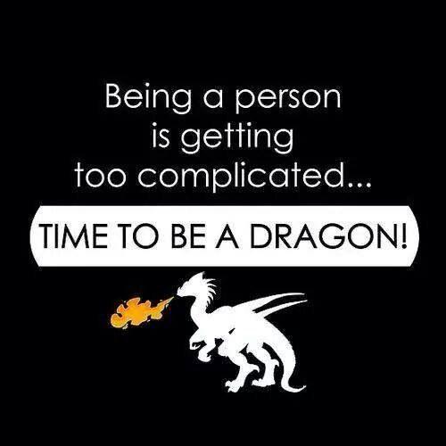 Be a dragon