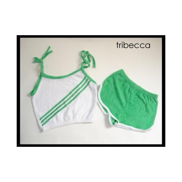 70's Terrycloth Roller Skate Short Set - oh, Terrycloth, you were so comfortable and light weight!