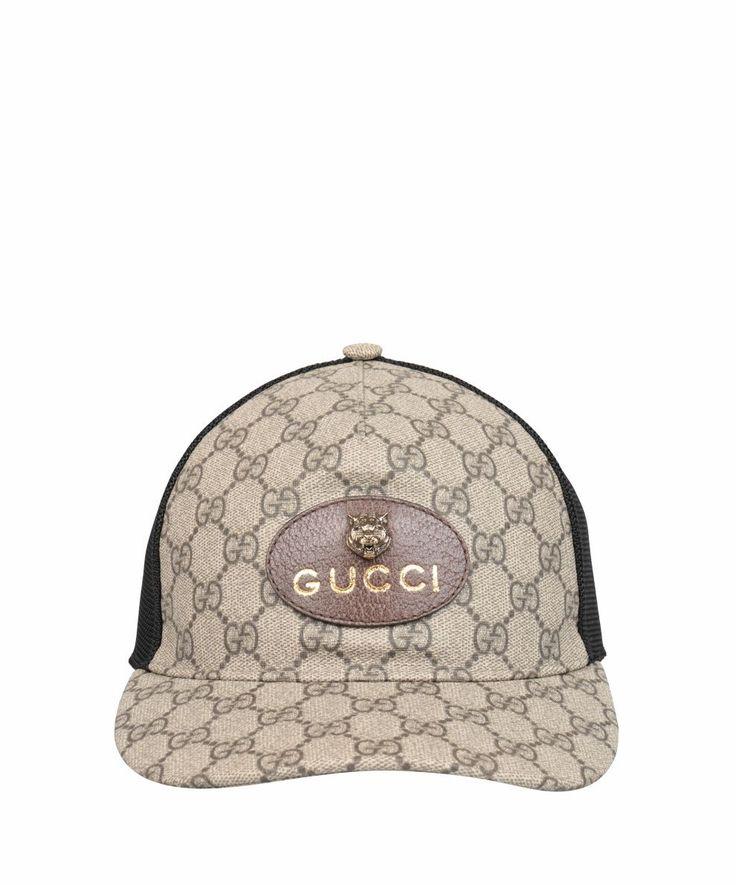 GUCCI GG SUPREME HAT. #gucci #