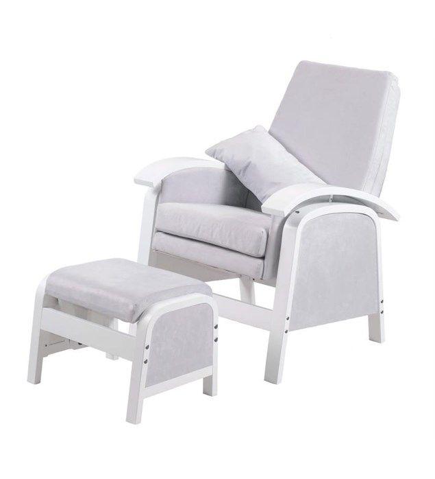 Kub Rosewell Glider Nursing Chair and Foot Stool   GreyBest 25  Nursing chair uk ideas on Pinterest   Miniature furniture  . Good Chairs For Nursing. Home Design Ideas