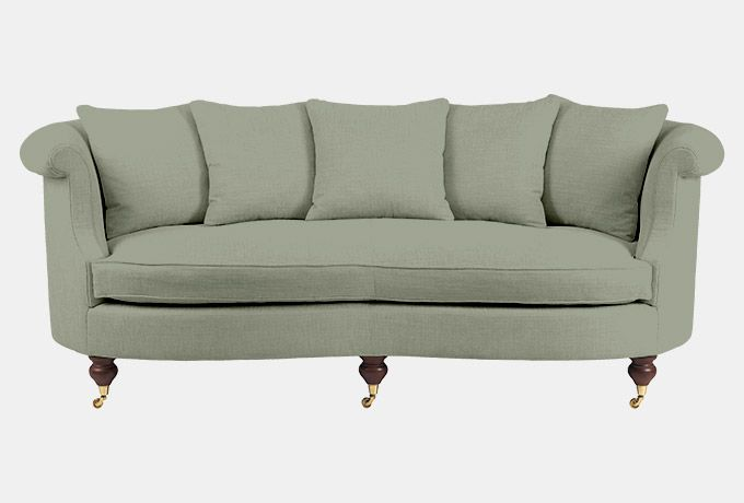 Clanfield sofa in Coberley Duck Egg  #WesleyBarrell