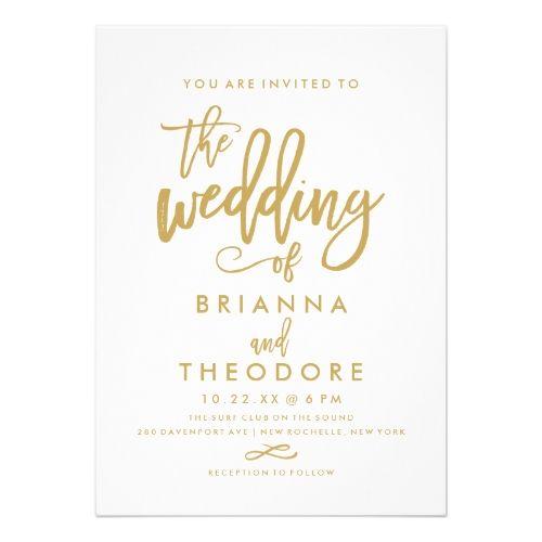 1000+ Ideas About Simple Wedding Invitations On Pinterest