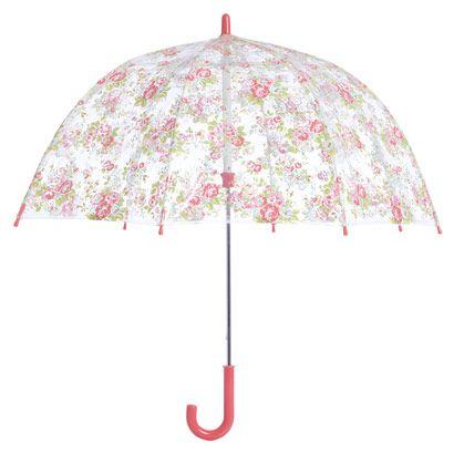 Spray Flowers Kids Umbrella