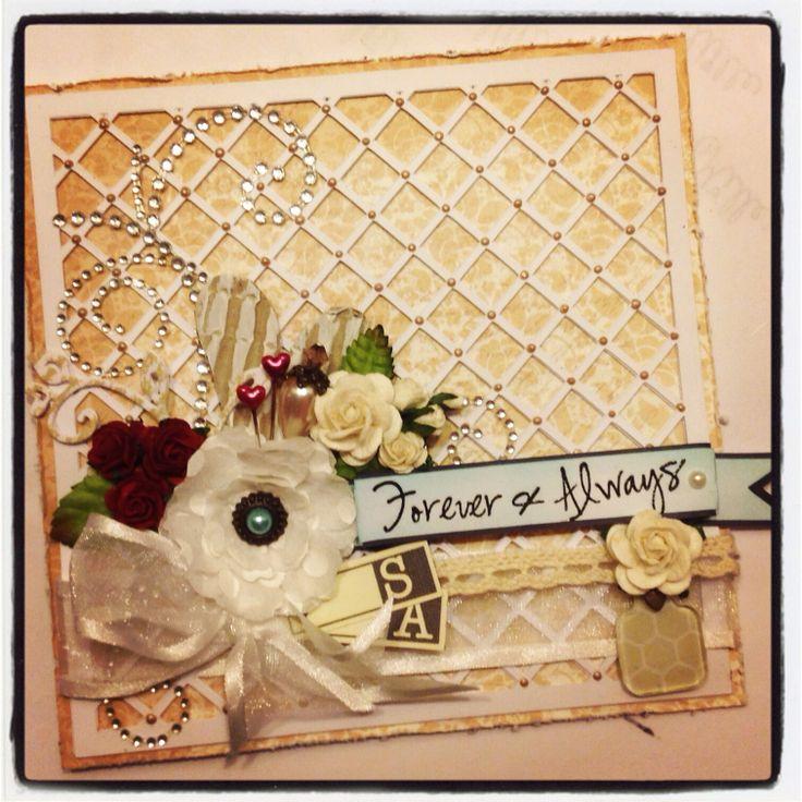 A #wedding #card that I made.