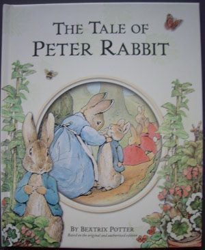 "The Tale of Peter Rabbit (1901) was written and illustrated for a specific child. It is one of the bestsellers of history, despite having been rejected by several publishers. It includes the words ""implored"", ""soporific"", ""exert"", ""whom"" and ""chamomile"" and also employs colons and begins a sentence with a conjunction."