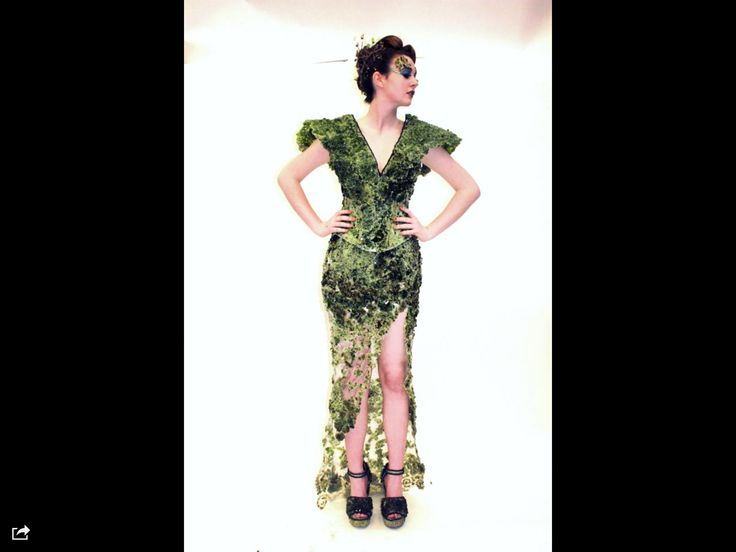 Please vote for sheer glass it is a fabulous dress made out of recycled wine bottles so please vote vote vote
