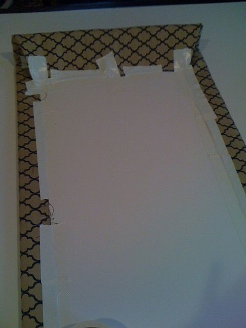 No Sew Cornice : No sew saw cornice boards out of foam core windows