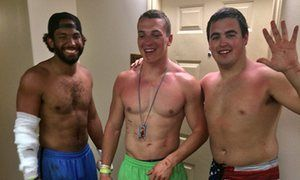 Iowa State football players save woman from drowning: 'They really are heroes'