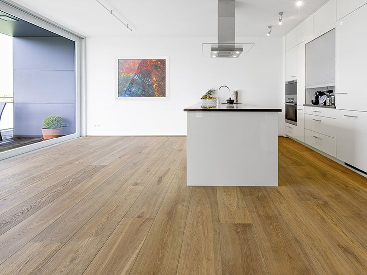 mafi Oak Medium Vulcano Brushed Natural Oil | Timber Floors | Kitchen