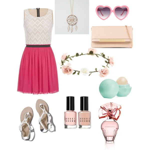 Sweet Picnic date outfit by vida668 on Polyvore featuring polyvore fashion style maurices Abercrombie & Fitch ALDO Full Tilt Accessorize BCBGMAXAZRIA Eos Bobbi Brown Cosmetics