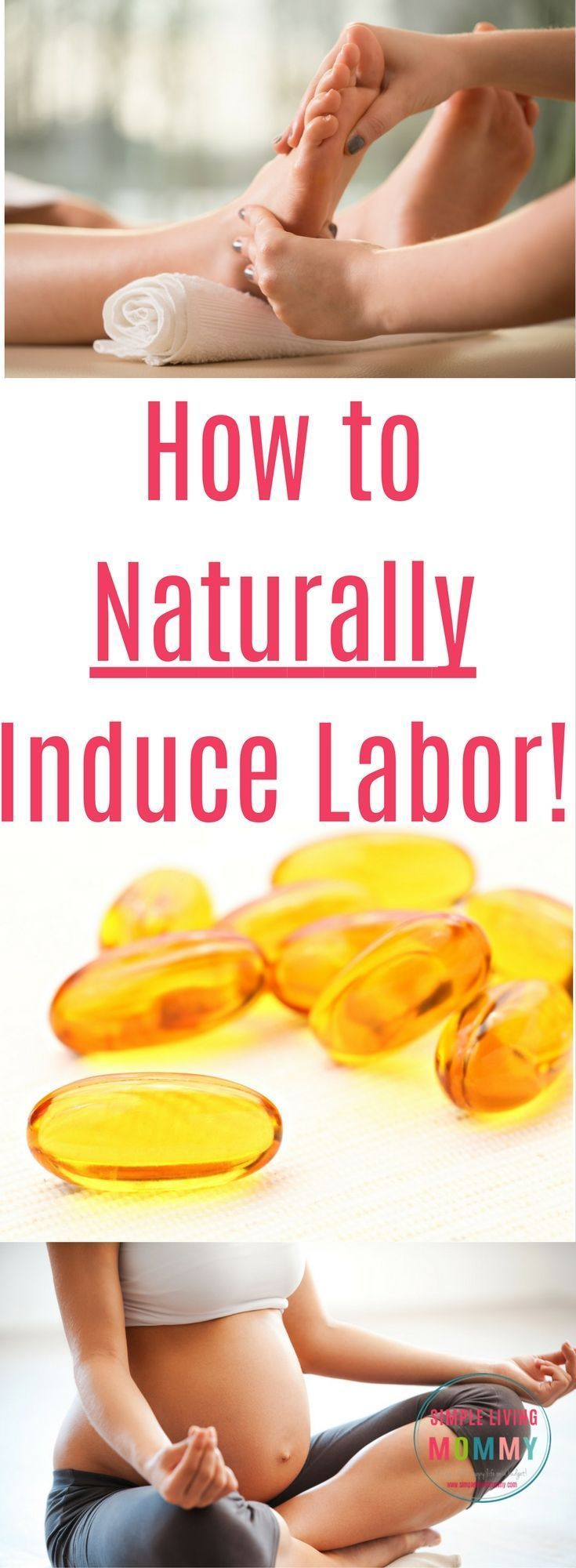 Whether you've gone overdue with your pregnancy or you're trying to avoid induction, there are tons of natural techniques you can try!  Here are some natural labor induction techniques to try, plus one that worked for this blogger to start her labor! #NaturalPregnancyAdvice #NaturalPregnancyLife