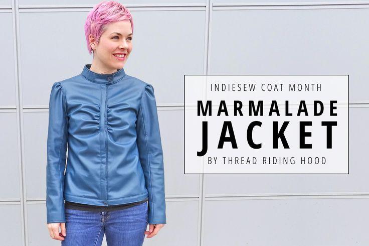 Indiesew Coat Month | Sherri's Marmalade Jacket