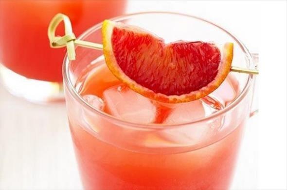 Recept voor een cocktail met bloedappelsien