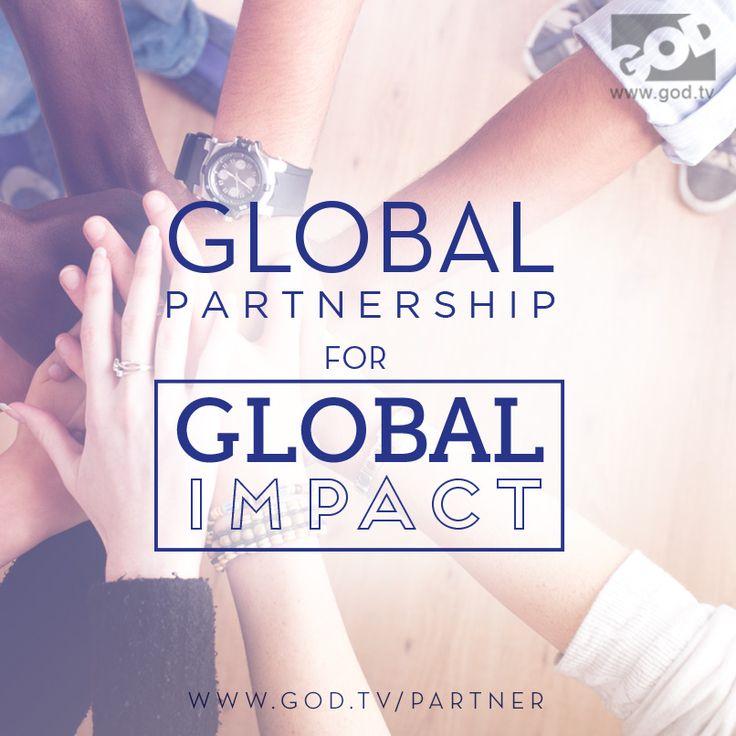 Together we can reach 1 Billion Souls with the Gospel! Partner with GOD TV today www.god.tv/partner