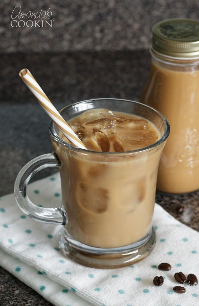 There Are A Couple Ways To Make Iced Coffee Hot And Cold Brews I Used To Just Refrigerate The Coffe Frozen Coffee How To Make Ice Coffee Frozen Coffee Drinks