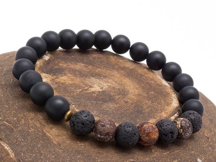 Mens Armbands – Bracelet Men 014 – a unique product by Blackif on DaWanda