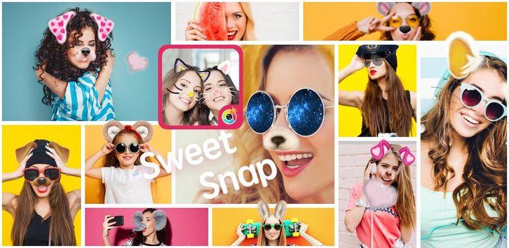 Sweet face camera live filter selfie photo edit